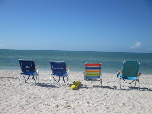 beach chairs at OR