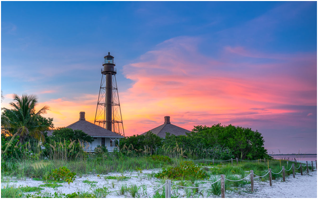 sanibel-lighthouse-sunrise