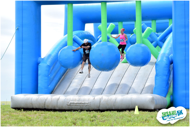 the Insane Inflatable 5K 1