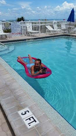 pool floating at OR
